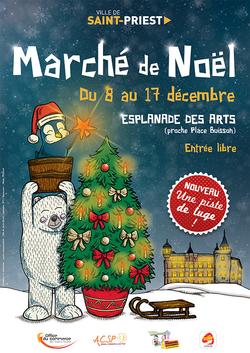 Marché de Noël de Saint-Priest @ Esplanade des Arts | Saint-Priest | Auvergne-Rhône-Alpes | France