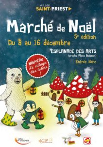 Marché de Noël de Saint-Priest 2019 @ Esplanade des Arts | Saint-Priest | Auvergne-Rhône-Alpes | France
