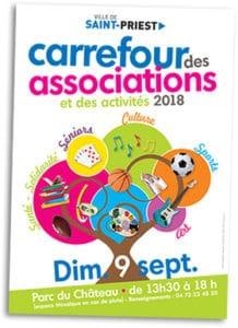 Carrefour de associations 2019 @ Parc du Château | Saint-Priest | Auvergne-Rhône-Alpes | France