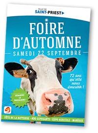 La foire d'automne de Saint-Priest @ Ville de Saint-Priest | Saint-Priest | Auvergne-Rhône-Alpes | France